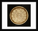 A gold engraved paten by Corbis