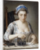 A Maid Ironing by Henry Robert Morland