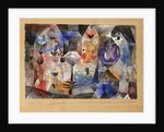Concentrierter Roman by Paul Klee
