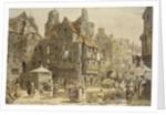 John Knox's House, Edinburgh by Louise Rayner