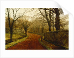 Stapleton Park, Pontefract by John Atkinson Grimshaw