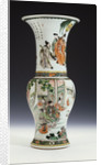 A very fine famille verte Yanyan vase, Kangxi by Corbis