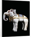 A rare and important Kakiemon model of an elephant by Corbis