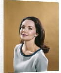 1970s Portrait Smiling Woman With Long Brunette Hair by Corbis