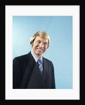 1960s 1970s Portrait Smiling Businessman In Suit And Tie With Bond Hair In Comb Over Style by Corbis