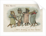 Group of cat Christmas carolers by Corbis