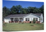 1960s 1970s Single Story Ranch Style Home With Lawn by Corbis