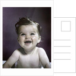 1940s 1950s Baby Head Shoulders Smiling Laughing Happy by Corbis