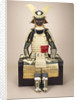 A composite Japanese armour suit with a Saotome helmet by Corbis