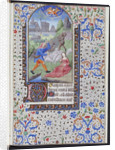 Annunciation to the Shepherds from a French book of hours by Corbis