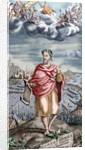 Homer (8th Century B.C.). Greek epic poet by Corbis