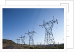 Power Lines, Ground Coulee Dam, Washington by Corbis