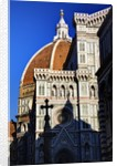 The Duomo of Florence with evening light by Corbis