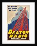 Dalton Radio French Poster by Corbis