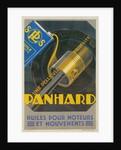 French Motor Oil Advertisement, Piston by Corbis