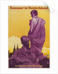 Travel Poster for Summer in Germany by Corbis