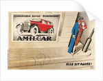 French Advertisement for Amilcar by Corbis