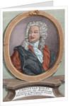 Christian Wolff (1679-1754). German philosopher by Corbis