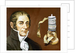 Alessandro Volta (1745-1827) by Corbis