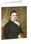 Portrait of a Gentleman by Attributed to John Wesley Jarvis by Corbis