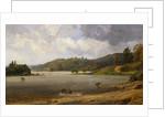 On the Wawayanda Lake, New Jersey by Jasper Francis Cropsey