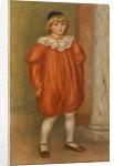 Claude Renoir in Clown Costume by Pierre-Auguste Renoir