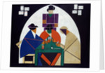 Card Players by Theo van Doesburg