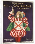 Champagne Castellane French Advertising Poster by Corbis