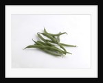 Green beans by Corbis