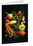 Assorted vegetables by Corbis