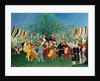 A Centennial of Independence by Henri Rousseau