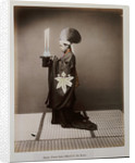 A Shinto Priest Offering Sake to the Kami by Corbis
