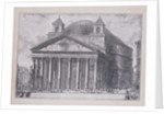 A View of the Pantheon of Agrippa with the Church of Santa Maria by Giovanni Battista Piranesi