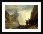 A Lake in the Sierra Nevada by Albert Bierstadt