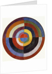 First Disc by Robert Delaunay