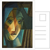 Head of a Harlequin by Juan Gris