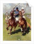 A Polo Match by Ludwig Koch