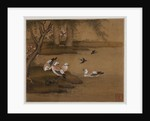 Ducks and swallows: from an album of bird paintings by Gao Qipei