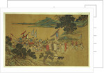 Foreign Tributaries en Route to China attributed to Shang Xi by Corbis