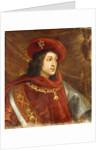 Portrait of Philip I of Spain, bust-length, wearing the Order of the Golden Fleece by Cornelis de Vos