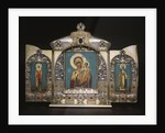 An important silver-gilt triptych by Corbis