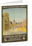 Chemin de Fer Paris to Orlean, French Railroad Travel Poster by Corbis