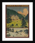 Chemin de fer D'Orleans, French Railway Travel Poster by Corbis