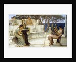 Sappho and Alcaeus by Sir Lawrence Alma-Tadema