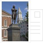 Statue of Revolutionary Patriot, Samuel Adams by Corbis