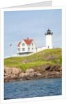 Nubble Lighthouse, Cape Neddick, York, Maine by Corbis