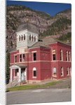 Ouray County Courthouse, Ouray, CO by Corbis