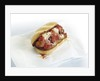 Grilled meatball sandwich by Corbis