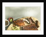 Baby back ribs by Corbis