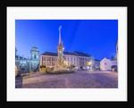 Mikulov Town Square at Dawn by Corbis